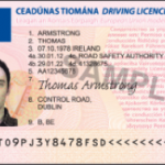 New Plastic Drivers Licence
